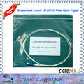 Free Shipping 50pcs lot Fiber Optic LC UPC Pigtail Singlemode 0 9mm 1m