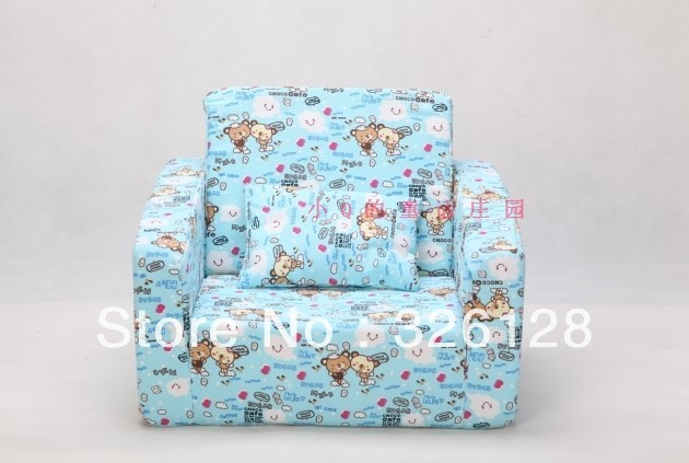 New arrival baby sofa ,folding sofa for boys and girls,bear pattern sofa