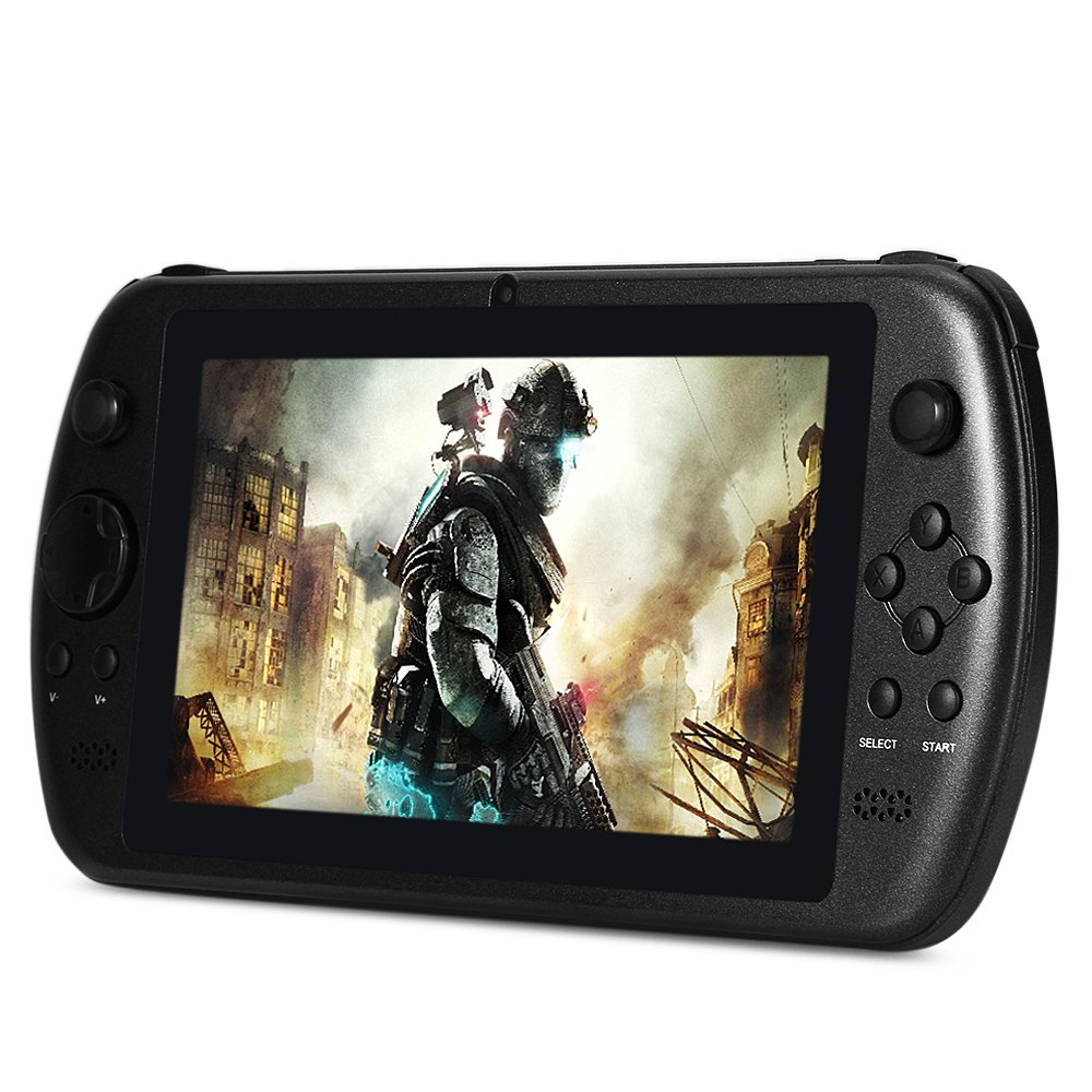 Gpd Q9 7 inch Game Tablet PC Android 4.4 RK3288 Quad Core 1.8GHz WSVGA IPS Screen 2GB / 16GB WiFi Camera Handheld Game Players(China (Mainland))