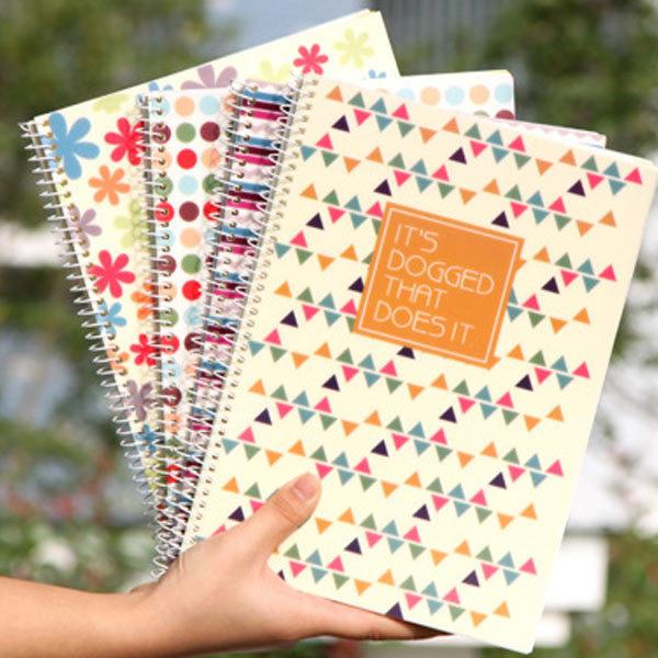 A4  60 sheets popular styles  spiral binding notebook <br><br>Aliexpress