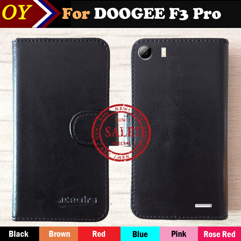 Factory Price DOOGEE F3 Pro 4G Case 6 Colors Fashion Dedicated Slip Leather Phone Cover Card + Tracking Number - ShenZhen OYO Technology Co., Ltd. store