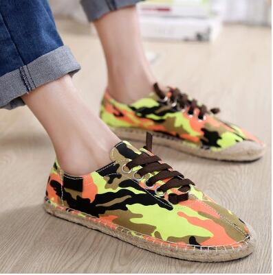 woven grass bottom flax hemp shoes pedal lovers canvas female / male balance - 99%Valoraciones store