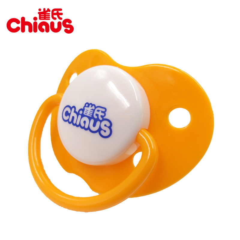 Free Shipping 1 pcs Chiaus Baby Pacifiers Soother Heart-Shaped Silicone+PP >6 months BPA Free Teats Nipples Baby Feeding