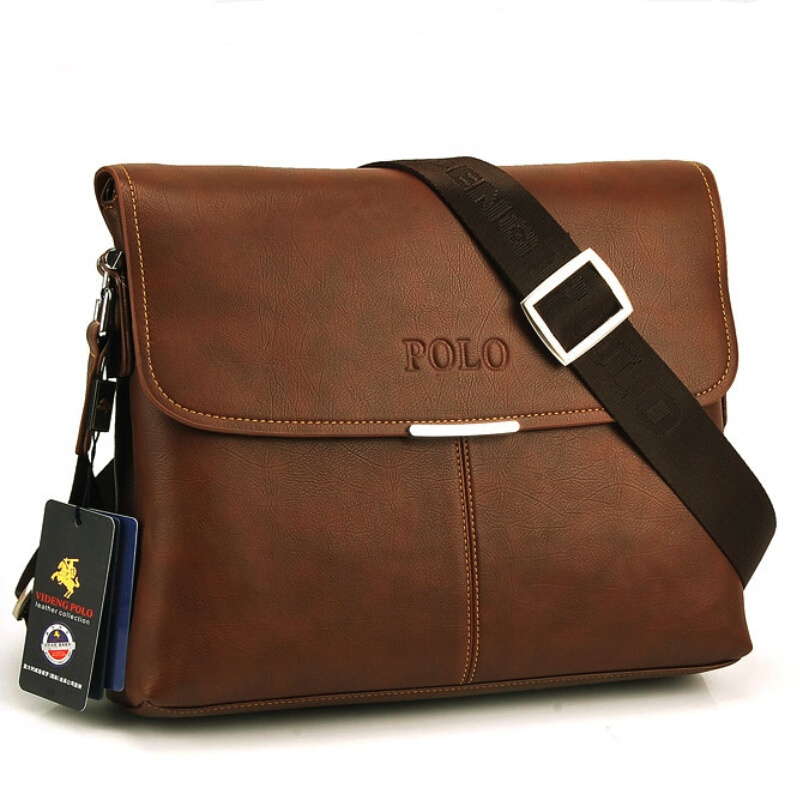 New Leather Men Messenger Bag Men Bag Famous Brand Casual Business Formal Briefcase Brand High ...