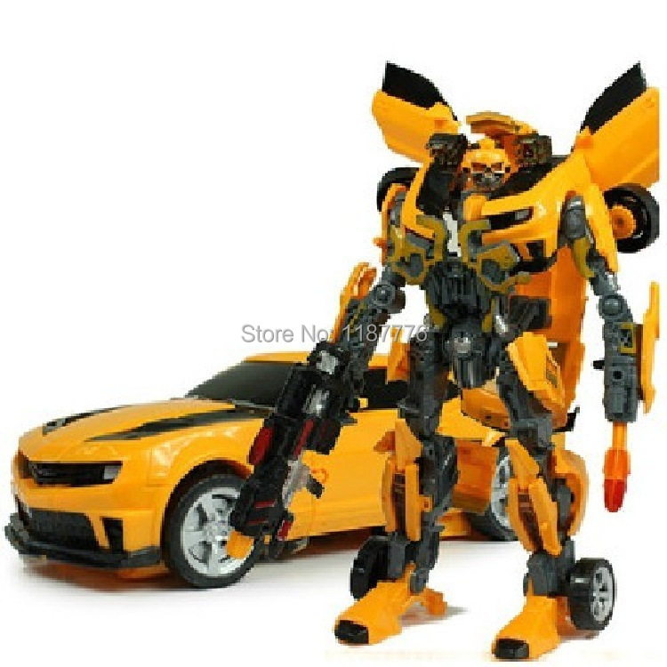 2015 New Super Transformation Robot Human Alliance Bumblebee Action Figures Toys classic toys anime figure boy toy - Eastern Perfect Life Store store