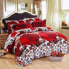 3d bedding sets Butterfly Marilyn Monroe Leopard rose bedclothes duvet cover sheet Queen king twin panda bedspread bed linen(China)