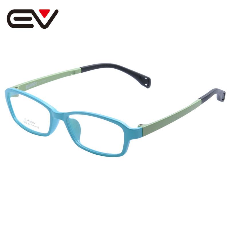 Fashion Baby Kids Toddler Acetate Optical Eyeglasses Frames Girls Boys Children's Spring Hinge Eyewear Frames 5 Color EV1397(China (Mainland))