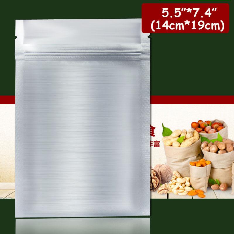 10s 5.5 inch*7.4 inch (14cm*19cm)*220mic Self Adhesive bag Ziplock Bag r - Packaging Store store