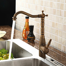 Buy Centerset Antique Brass Pull Kitchen Sink Faucet Tap Mixer,Torneiras Parede Pia Cozinha Grifos Cocina for $60.33 in AliExpress store