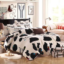 High Density Thick Flano 4/3 Pcs Warm Flannel Bedding Set Bed Sheet/Duvet Cover/Pillowcase King/twin/queen(China (Mainland))