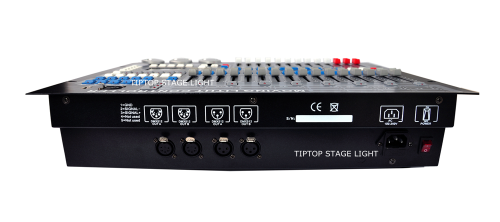 Freeshipping TP-D29 King Kong Lighting Controller 1024 DMX Console with Personality Builder Software Build In Program USB LAMP