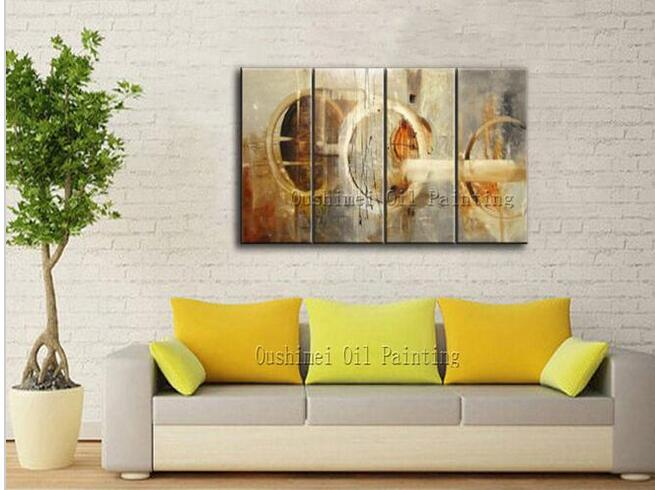 ig Manufacturer Wholesale High Quality Modern Abstract Oil Painting On Canvas Light Colors Abstract Oil Picture For Friend Gift(China (Mainland))