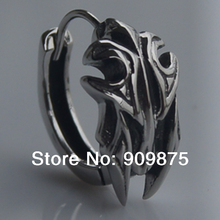 men jewelry cool 316L stainless steel  men/boy's earring hoop punk(China (Mainland))