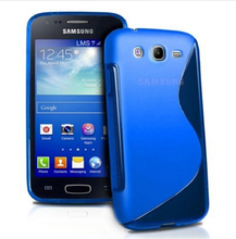 New Soft Silicone TPU Gel S line Skin Back Cover Case For Samsung Galaxy Core I8260 I8262 Case