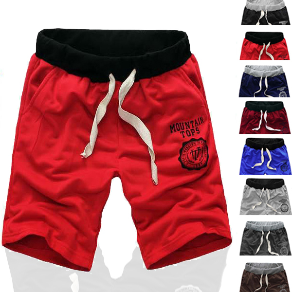 Hot Sell 2015 New Sport Shorts Men Casual Harem Shorts Male Loose Trousers,8 Colors,S-XXXL Drop Shipping Quality Cotton(China (Mainland))