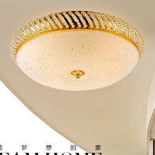 Promotion simple gold modern ceiling lamp lamparas de techo luminarias para sala free shipping(China (Mainland))