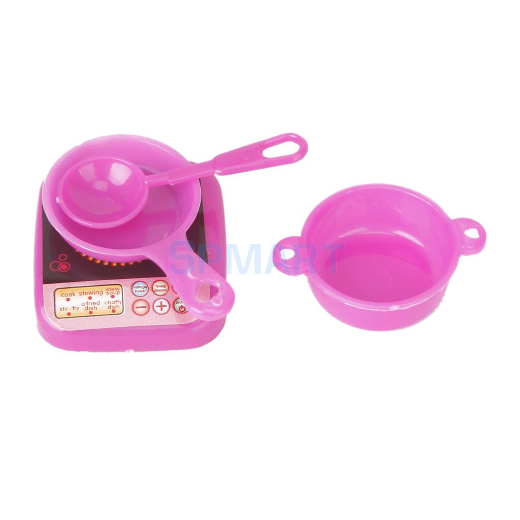 New Arrivals 2015 Set 4 pcs Dollhouse Kitchen Cooking Utensils for Dolls Free Shipping(China (Mainland))