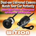 WITSON Dual use Camera CCD Rear view Parking Color Camera Car Reverse Backup Waterproof Camera with