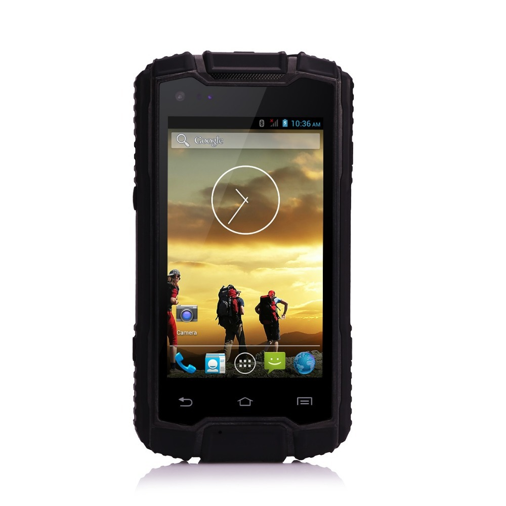 Walkie Talkie Original DIGOOR DG1 Cell Phone 4inch Android 4.2 MTK6582 Quad Core Waterproof Shockproof Mobil Phone Telephone(China (Mainland))