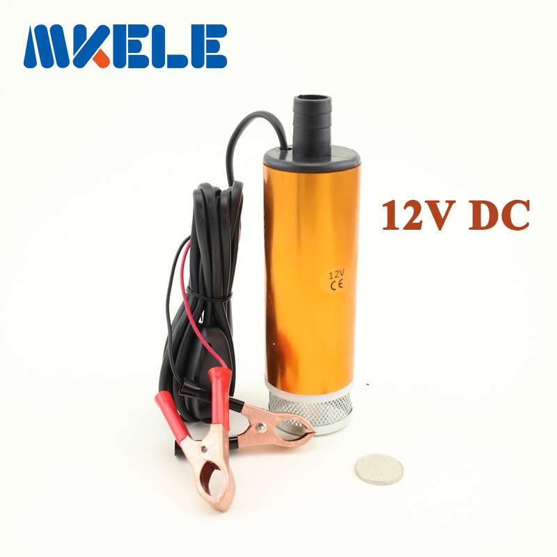 Aluminium Alloy DC 12V Submersible Transfer Diesel Fuel Water Oil Pump On/Off Switch Car Camping Portable 30L Per Minute(China (Mainland))