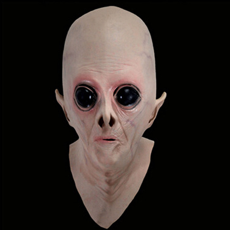 UFO Science fiction movie theme Cosplay Alien head latex masks Costume party Terror Thriller - Wendy's Store 518562 store