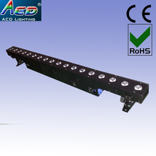 wholesale quality warranty 1year 18*10w 4in1 rgbw led indoor stage washer liner bar effect light(China (Mainland))