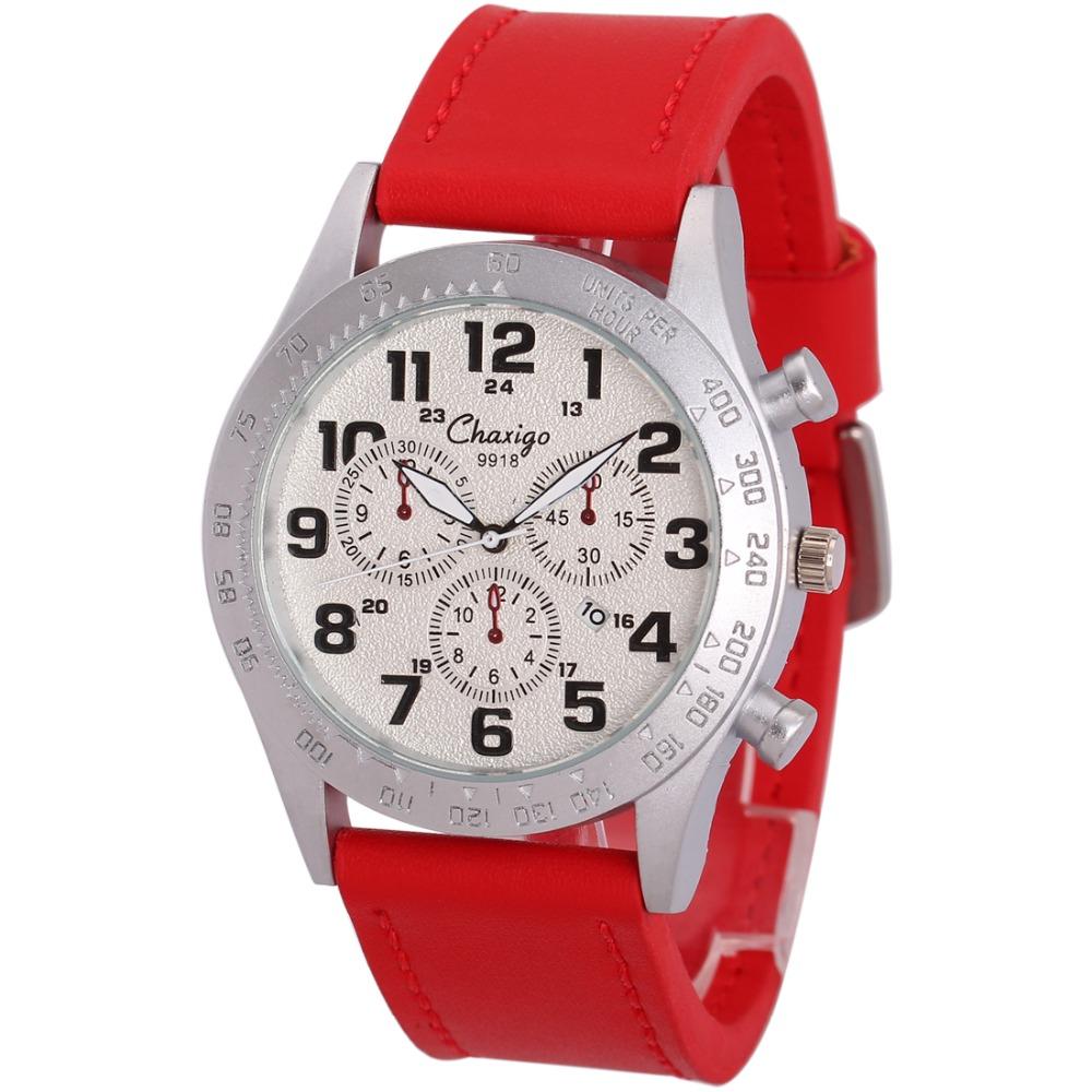 Chaxigo Silver Stainless Steel Dial Watches Quartz Wristwatch Fashion Horloge Mannen Cheap Watch China Suppliers Erkek Kol Saati(China (Mainland))