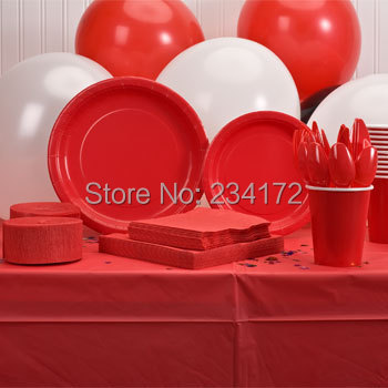 Red Crepe Paper Streamers, 10M, 2-ct. Packs,celebration rolls party supplies(China (Mainland))