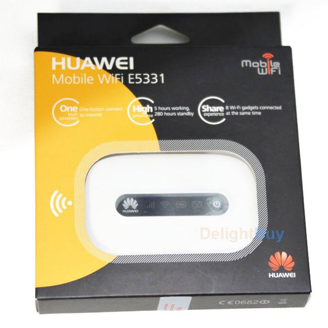 E5331 HUAWEI unlocked Wireless hotspot Hspa Pocket Wifi MIFI 21mbps 3G wifi Router 4G (HUAWEI LIsenced) - Shenzhen Delightbuy Electronics Co., Ltd. store