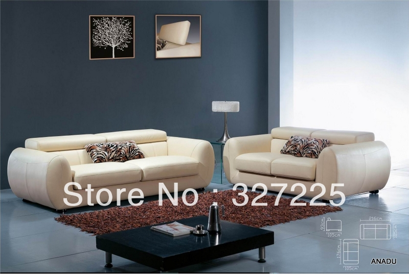 Living Room Leather Sofa Furniture Al071 In Inflatable Chairs From Furniture On