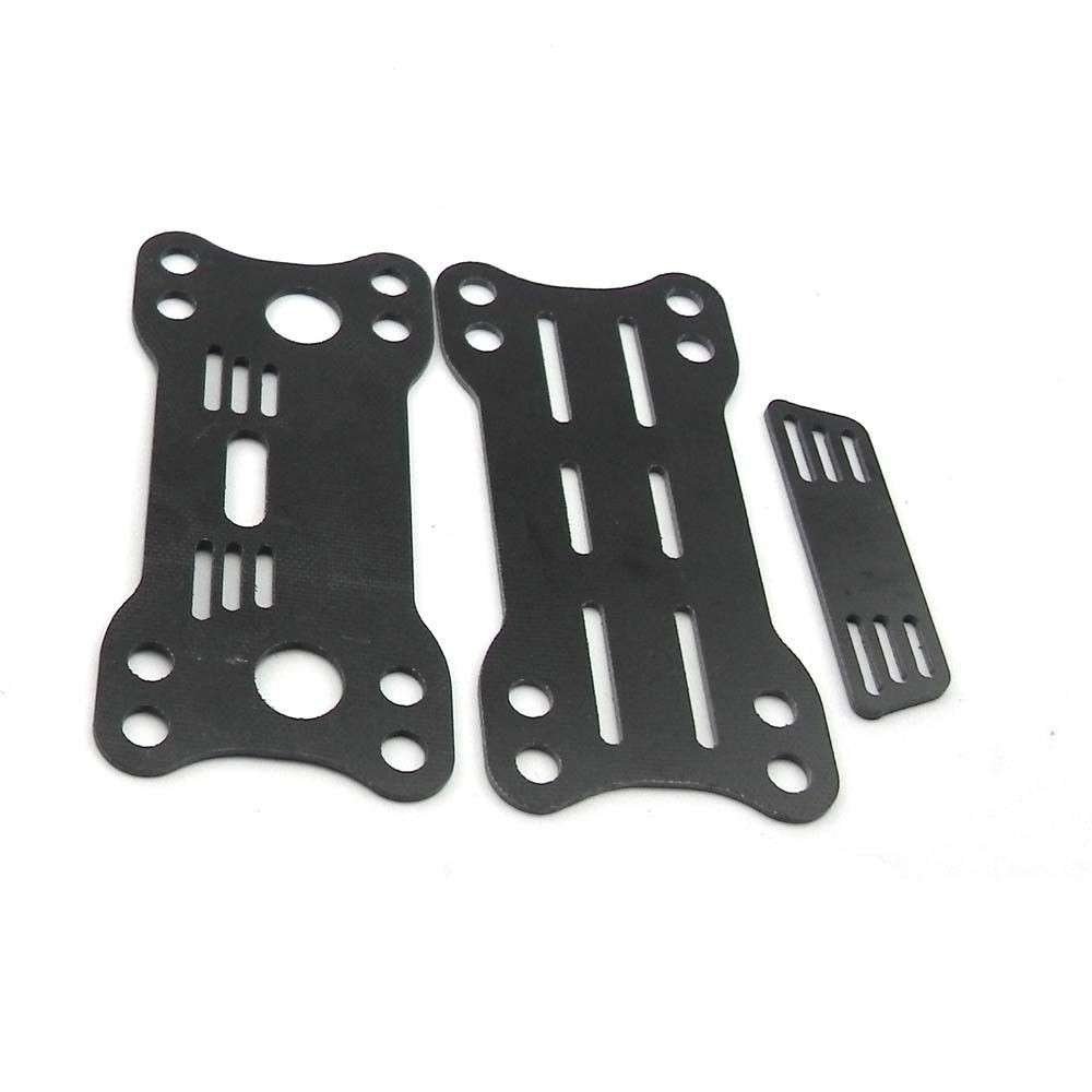 Metal Glass Fiber PTZ Pan/Tilt Camera Mount 2 Axis for DJI SJ4000 Quadcopter