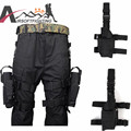 Military Airsoft Gun Left Leg Drop Pouch Tactical 600D Nylon Universal Pistol Drop Left Leg Right