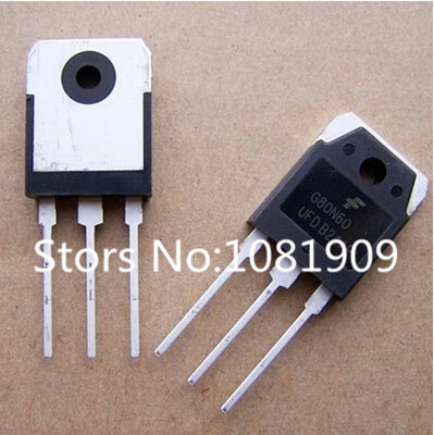 2 SGH80N60UFD SGH80N60 80N60UFD 80N60 IGBT 600V 80A 195W TO3P