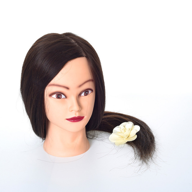 Aliexpress.com : Buy Long Straight Brown Hair Mannequin