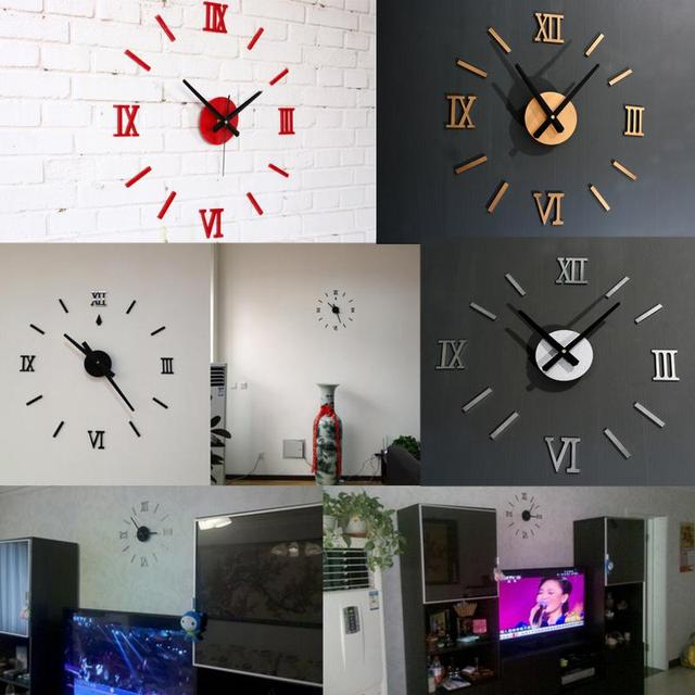 horloge murale moderne salon. Black Bedroom Furniture Sets. Home Design Ideas