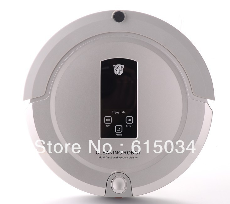 2013 Best GIFT For Wife,The Newest And Best 4 In 1 Multifunctional Robot Vacuum Cleaner with Lowest Noise Good for Babies(China (Mainland))