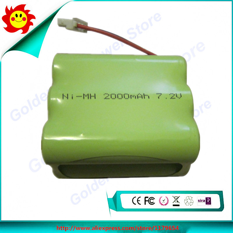 7.2V 2000mAh NI-MH Replacement Battery for iRobot Braava 320 321 & Mint 4200 4205 Floor Cleaner Robot(China (Mainland))