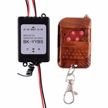 Hot 1X 12V Wireless Remote Control Module W/Strobe Flash For Car Vehicle Trucks Lamp Light Strips 3.2A(China (Mainland))