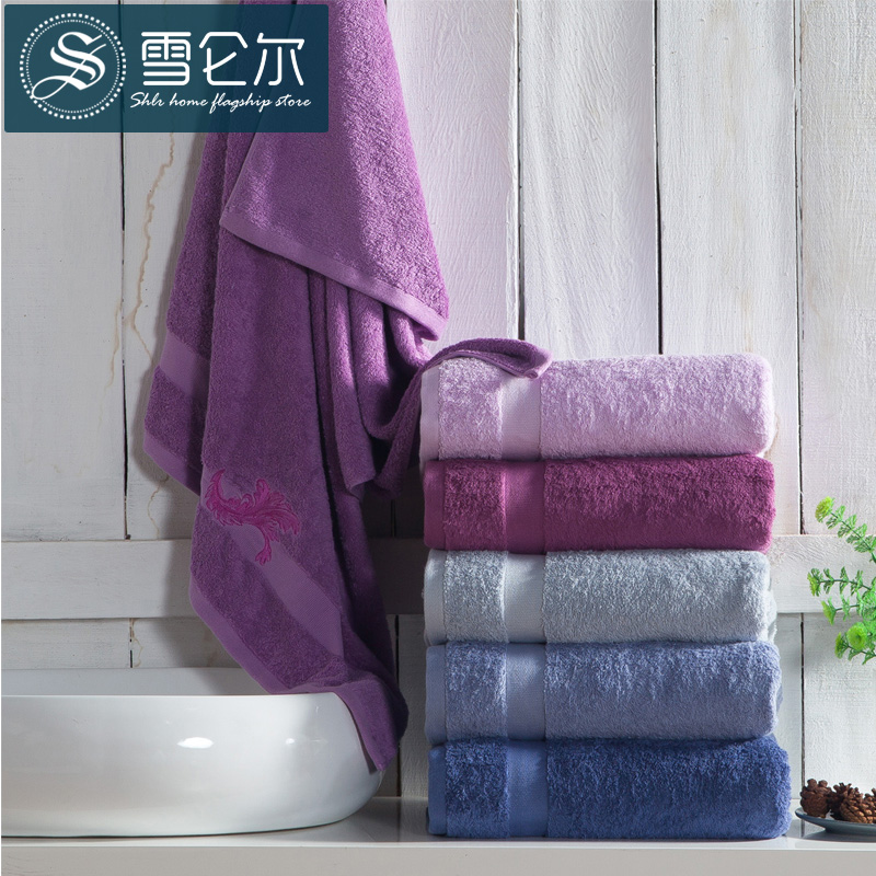 Snow Lun, wine shop towel Cotton cotton bra adult increase thickening of adult men and women soft large water bath towel(China (Mainland))