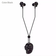 2016 Fashion Skulls Gothic Punk Earphone Sport Running Stereo Earphones with MIC For Friend Gift Headphone Headset 501004