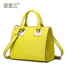 Nucelle Women Genuine Leather Handbags female cowhide tote bolsas purse cross-body bag vintage NZ2640