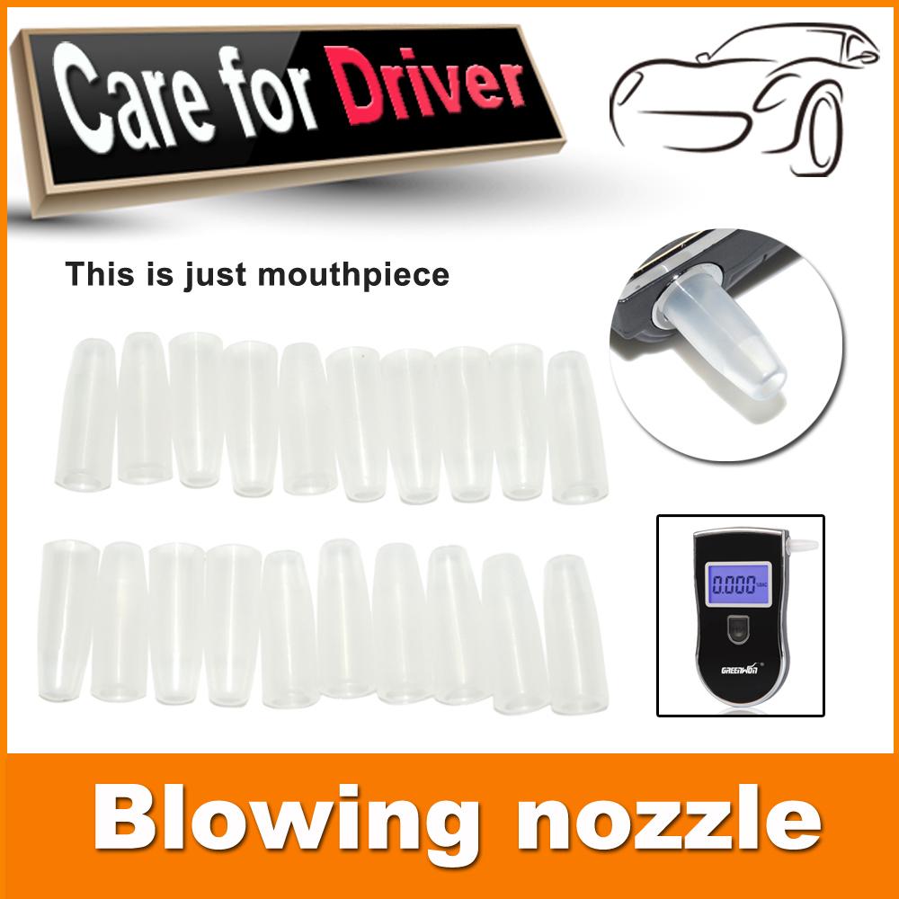 10 / упаковке много профессиональный мундштуки для цифровой дыхание спирт тестирование - 818 форсунка