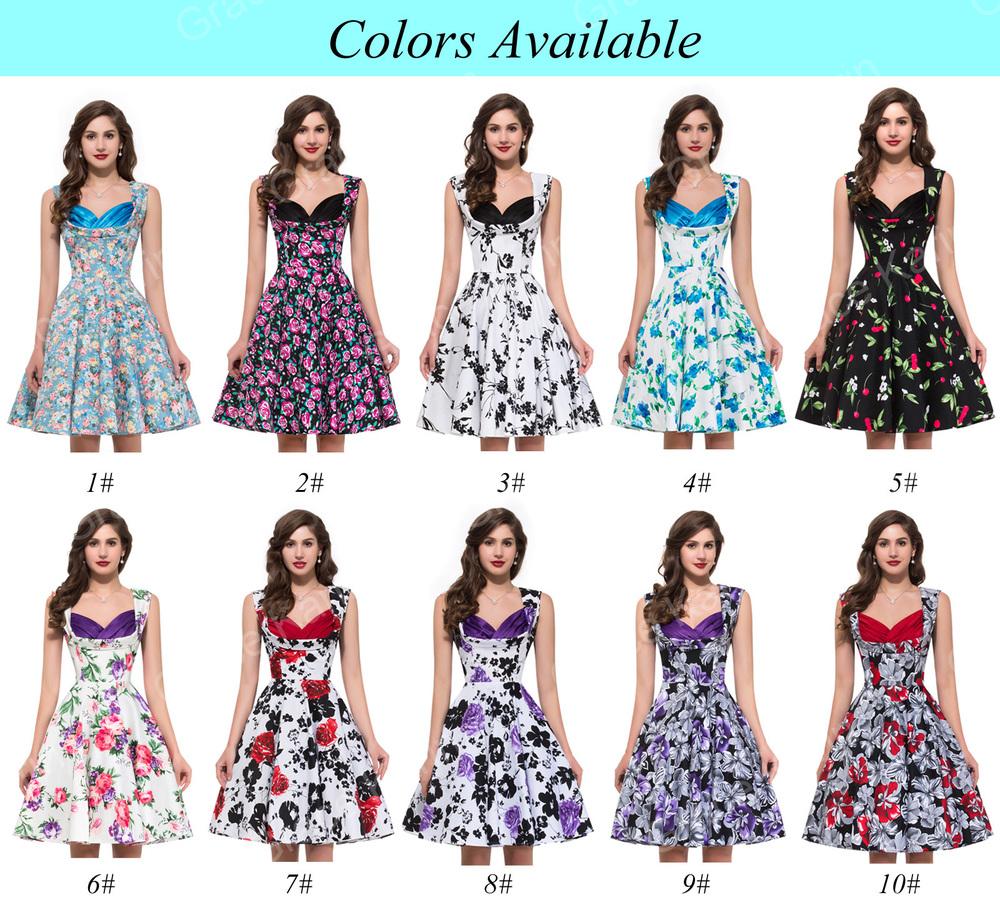 Garden Party Dresses For Women