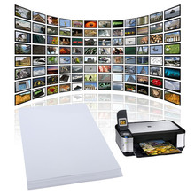 High-end 20 Sheets x A4 Waterproof Gloss Glossy Photo Paper For Inkjet Printer Photographic 210mm x 297mm White(China (Mainland))