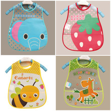 Buy Baby Bibs EVA Waterproof Lunch Bibs Boys Girls Infants Cartoon Pattern Bibs Burp Cloths Children Self Feeding Care for $1.11 in AliExpress store