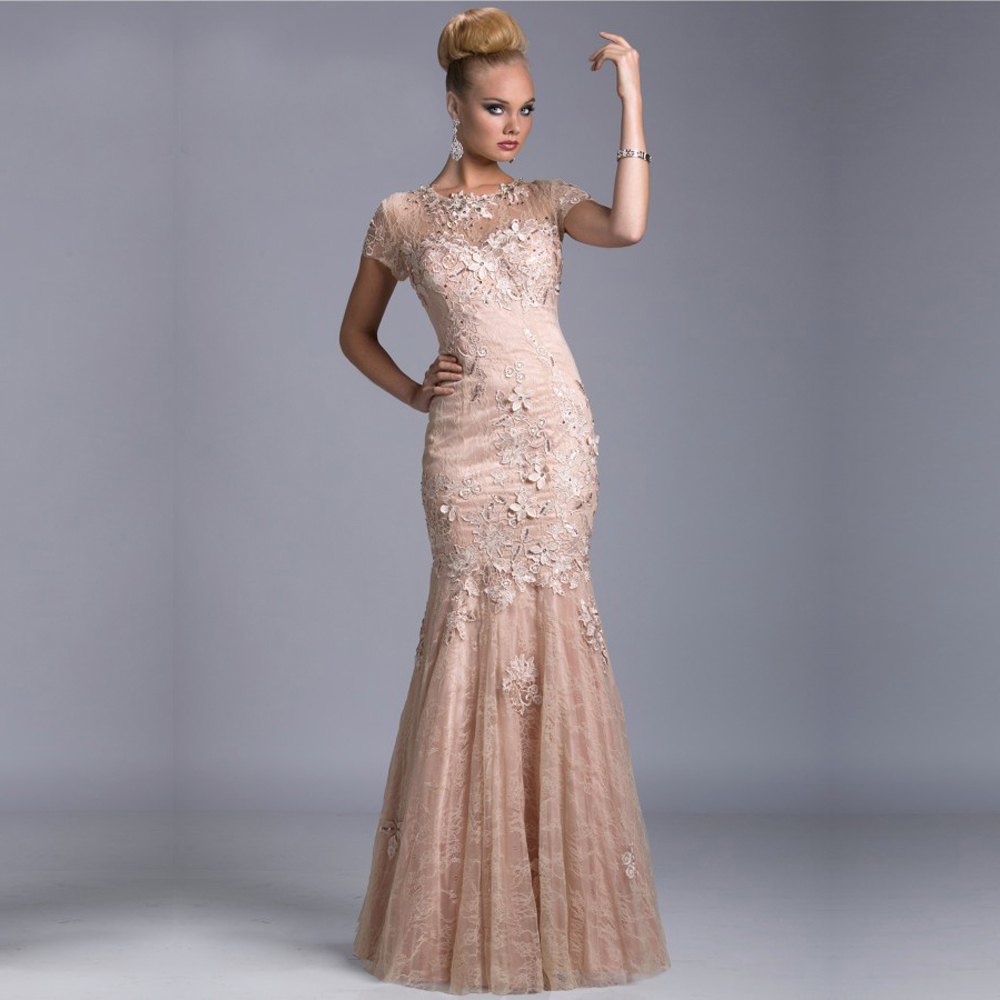 Hot sell coral mother of the bride lace dresses formal for Formal wedding dresses for mother of the bride
