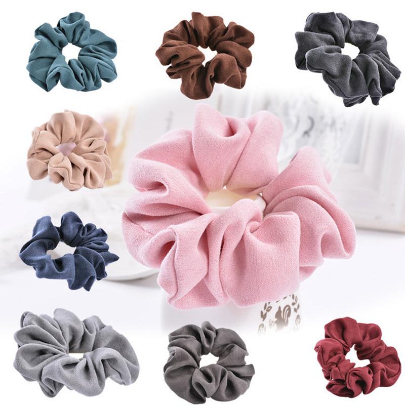 Light Color Women Hair Accesorios Pelo LOVINGSHA Brand Women Hair Tie Scrunchie Ponytail Hair Holder Rope CHD007(China (Mainland))