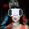 2016 New Head mounted Anti Blu ray Virtual Reality Headset 3D VR Glasses Video Movie Gaming