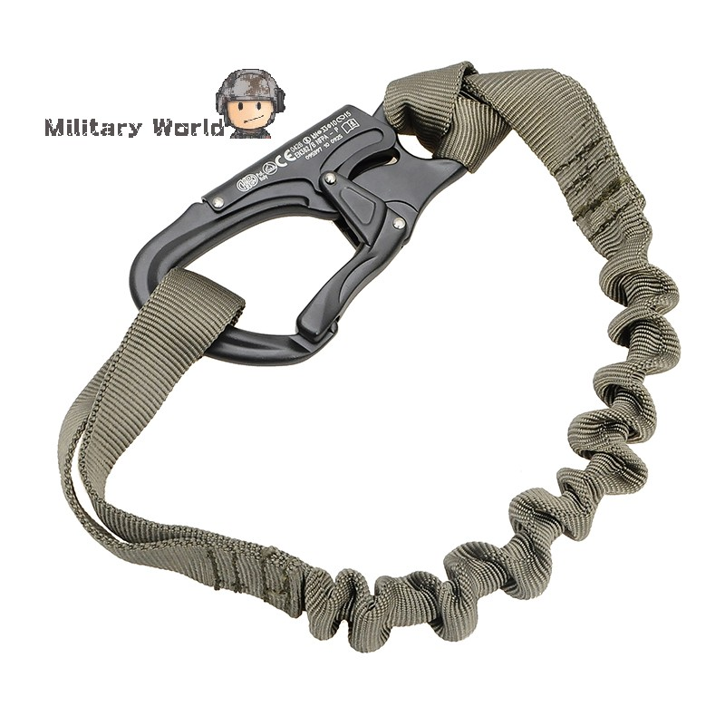 Breakaway Safety Lanyard Strap Rope Quick Release Tactical Protective Sling Safety Line Climbing Rope For Outdoor Activities(China (Mainland))