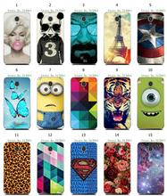 hybrid retail Fashion Case Captain America despiable me batman 15designs white hard phone cases for Lenovo A606 free shipping
